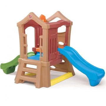 speeltoestel Play Up double slide climber 249 cm