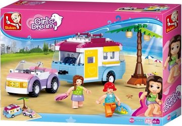 Girl's Dream: Auto Met Caravan (M38-B0606)