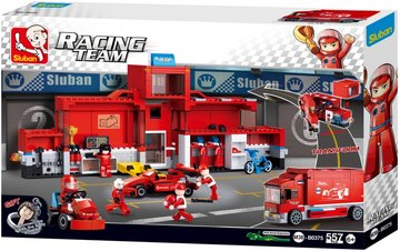Racing Team: Truck Pitstop (M38-B0375)