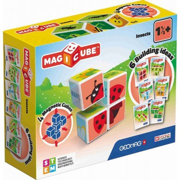 MagiCube Insects 7-delig multicolor