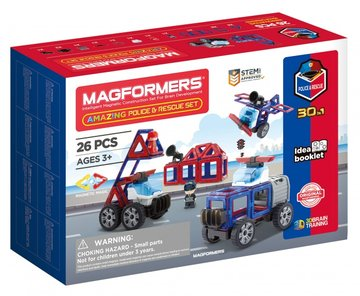 Amazing Police and Rescue set 26-delig